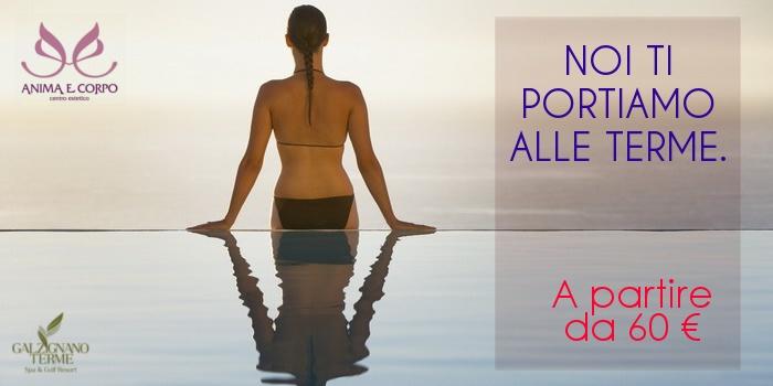 una giornata alle terme,massaggio in acqua