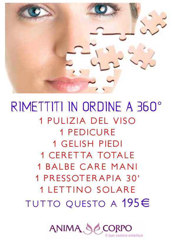 rimettiti in ordine