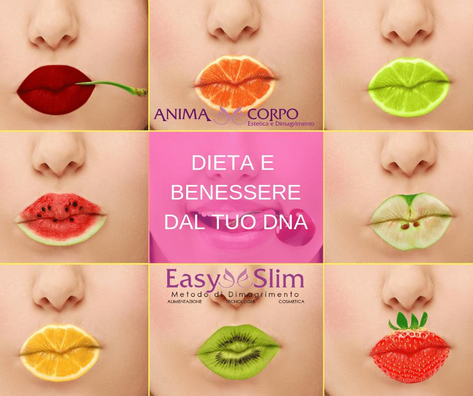 Dieta e Benessere con nutrigenetica